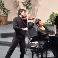 InCncrt- chamber music with Stefan Jackiw, violin and anna polansky, piano